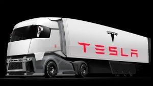 Грузовик Tesla