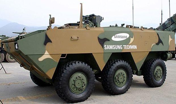 Бронетранспортер Samsung