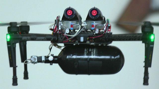 Водородный квадрокоптер