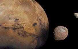 Спутники Марса Фобос и Деймос