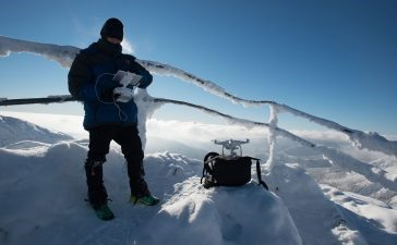 можно ли запускать квадрокоптер зимой
