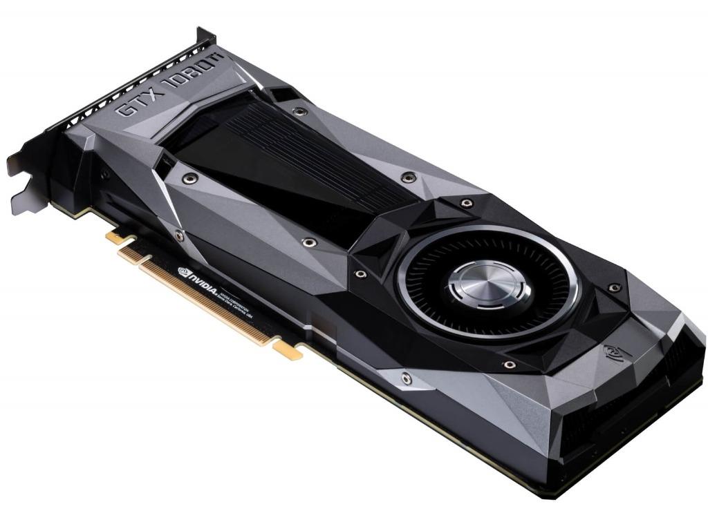 NVIDIA представила флагманскую видеокарту GeForce GTX 1080 Ti