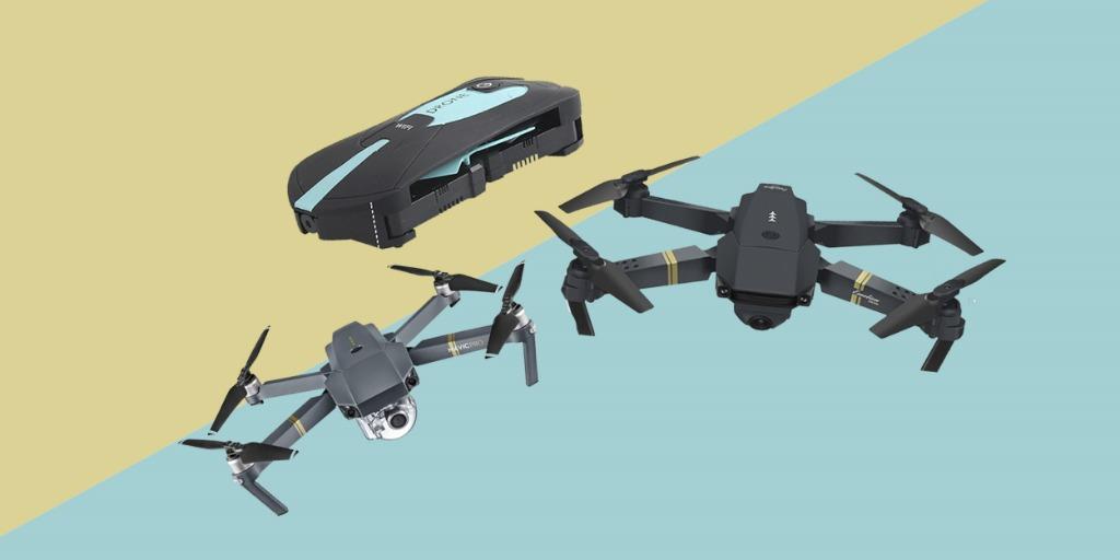 Лучшие складные дроны