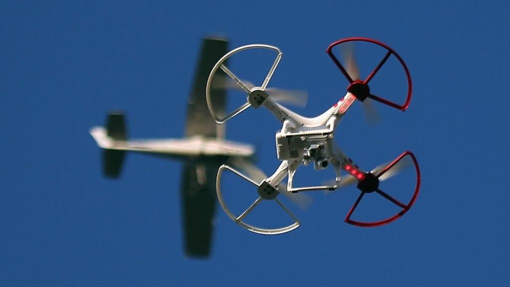 Опасность дронов