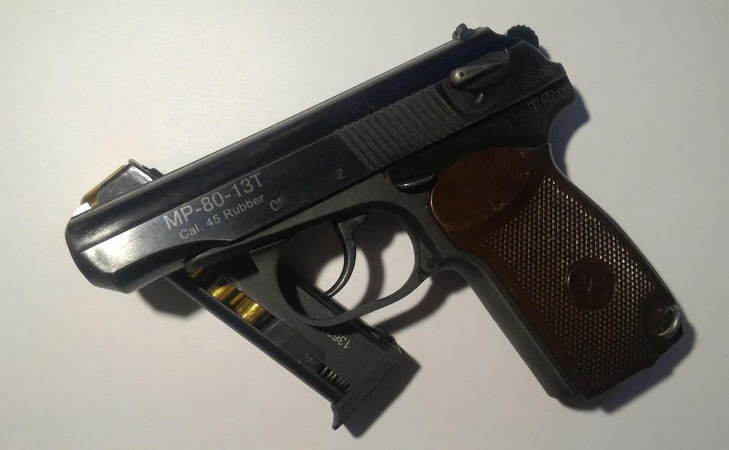 Насадка для пистолета делает выстрелы нелетальными