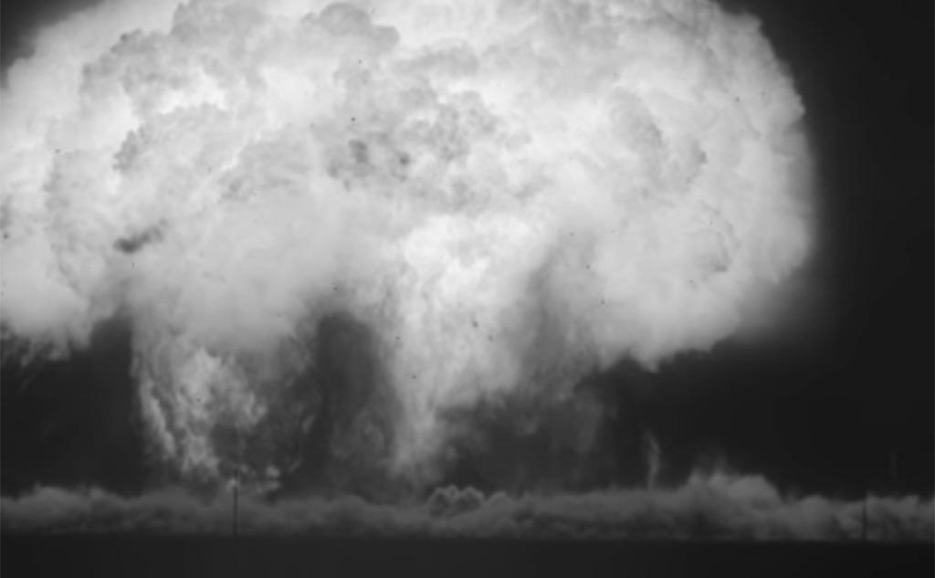Рассекреченные видео ядерных взрывов