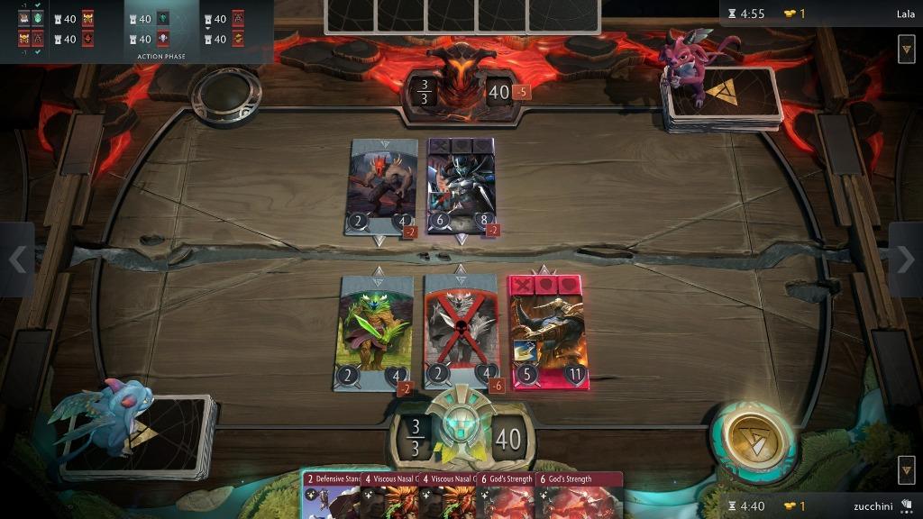 Valve выпустит карточную игру Artifact на PC уже в ноябре